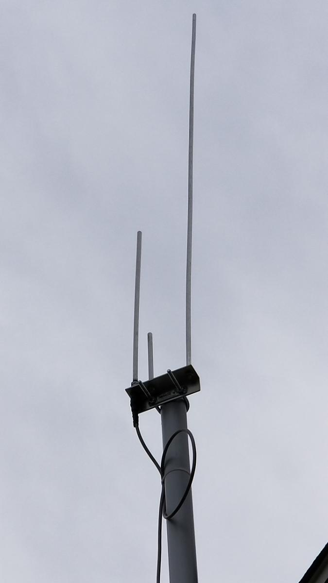 Build and Review – Dual Band J-Pole 144/440Mhz – New River
